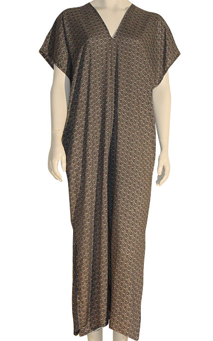 Dress Kaftan, Cotton Woven